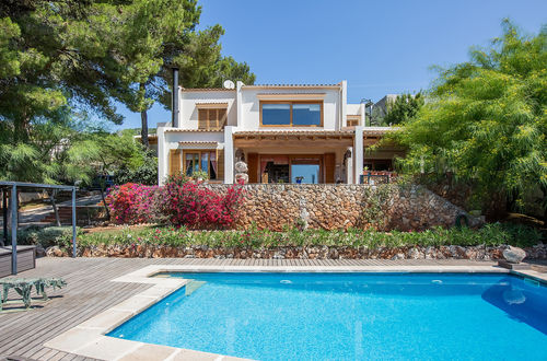 Spacious family villa with a panorama view