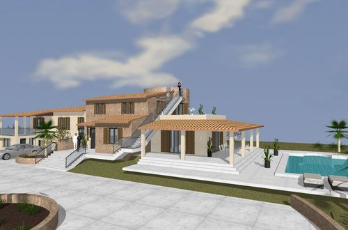 New Finca project with panoramic views