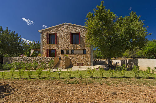 Newbuild stone Finca surrounded by almond trees