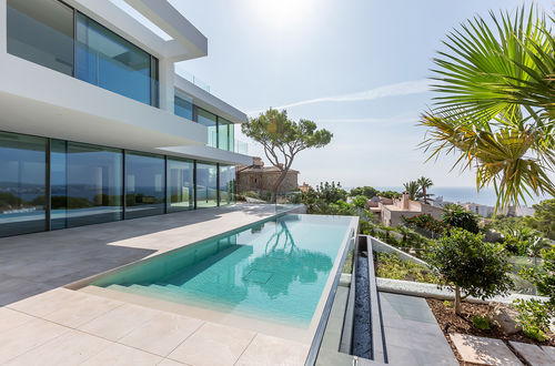 Modern villa with stunning views