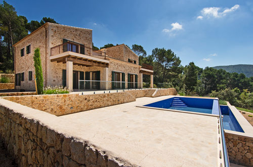 New stone Finca with magnificient views