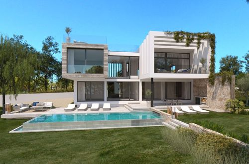 Bulding plot with sea views and villa project