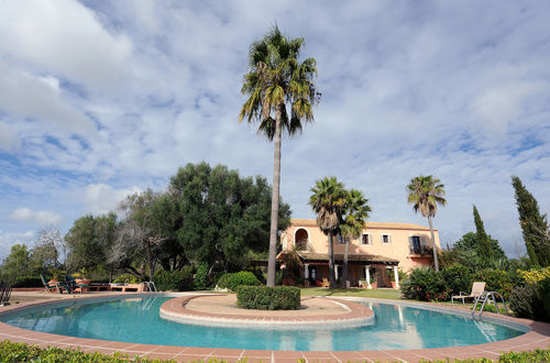Beautiful Majorcan Finca with panoramic views of olive- and almond trees