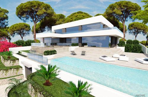 Refurbished luxury villa with panoramic sea views