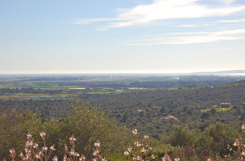 Tomt med magnifik utsikt över Palma bukten