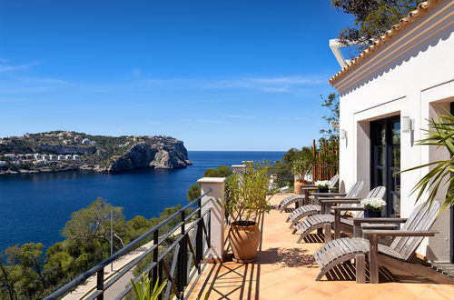 Spectacular finca style villa with stunning sea views in Port Andratx