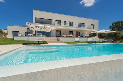 Modern luxury villa with  panoramic views