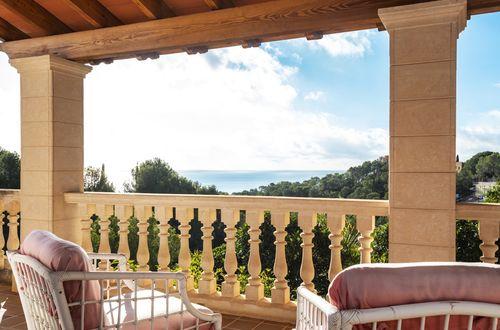 Charmig villa i Medelhavsstil med en härlig havsutsikt