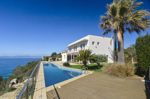 Modern Mediterranean villa with breathtaking sea views