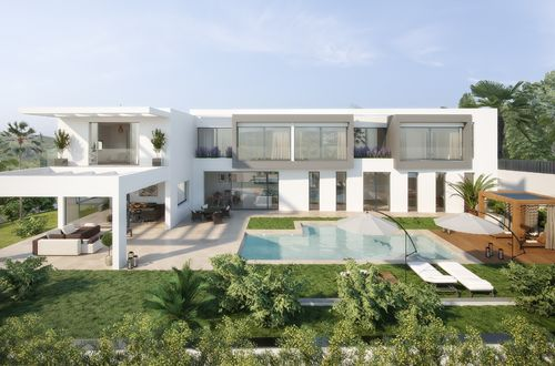 MODERN, LUXURY FAMILY VILLA UNDER CONSTRUCTION