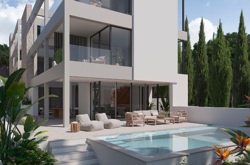 Ny trädgårdslägenhet med härlig utsikt över Palma-bukten