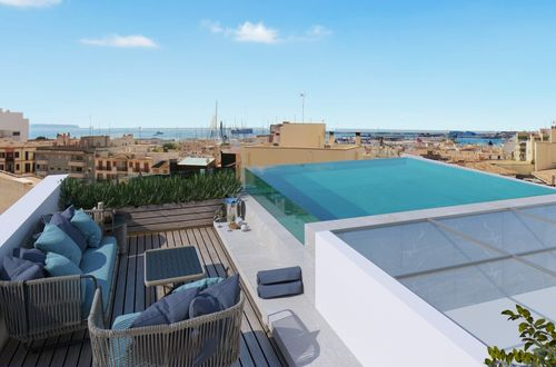 New apartment with private terrace in Palmas most trendy district