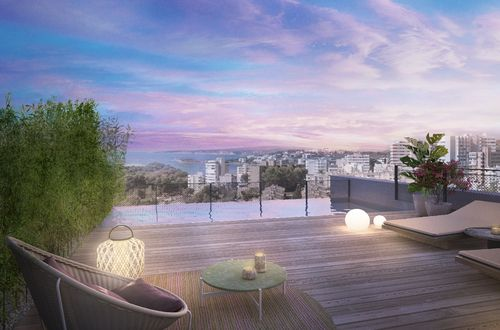 New build luxury penthouse with lovely views