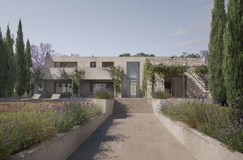 Spacious newly built villa in popular beach house style near Club Nautico