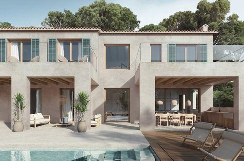 Ny modern villa nära den charmiga Club Nautico