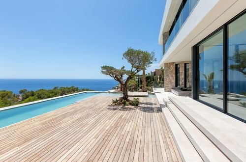 Breathtaking designer villa with panoramic sea views