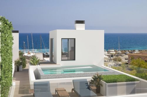 New duplex apartment by the sea in Can Picafort