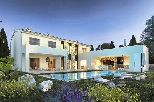 Extraordinär nybyggd villa på ett eftertraktat läge