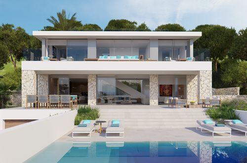 Spektakuläre Villa mit modernem Design und atemberaubender Aussicht