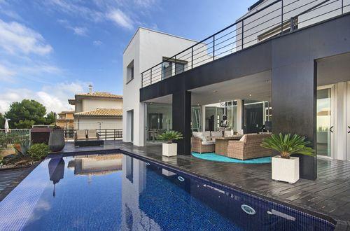 Modern villa with breathtaking views over Cala Blava