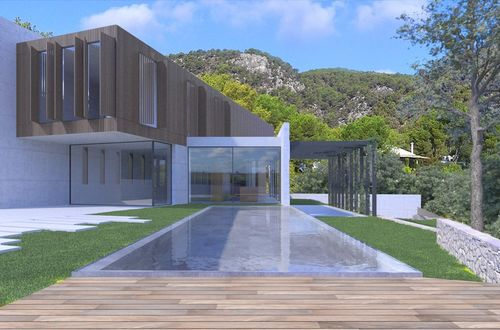 New quality villa with fantastic views