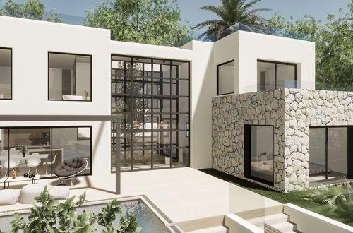 New stunning Mediterranean style villa in top location