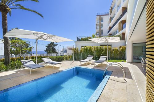 Beautiful garden apartment with private pool