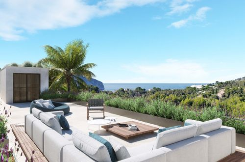 Sea view plot with project and building permit