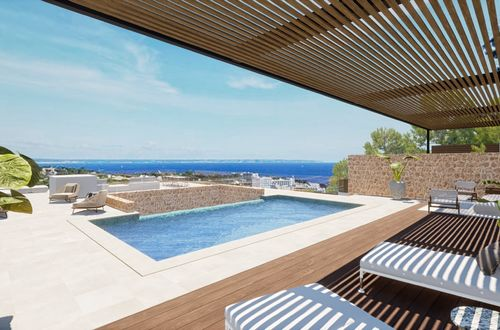 Dream property with a building license and wonderful sea views