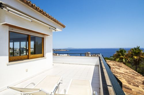 Large villa in an elevated position with glorious sea views