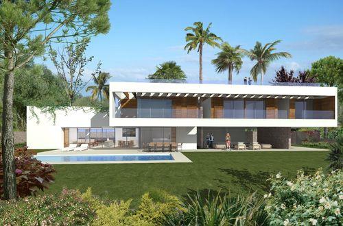 Exclusive new development villa with glorious sea views