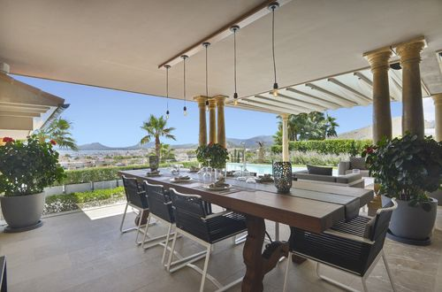 Impressive villa with breathtaking views over the Pollensa bay