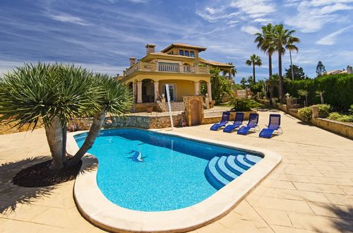 Mediterranean villa with panoramic views in Sa Torre