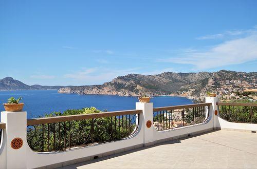 Mallorca egendom med separat gästvilla och vidsträckt panoramautsikt över Medelhavet