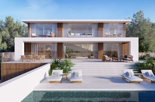 Porto Portals Modern new villa with sea views mallorca
