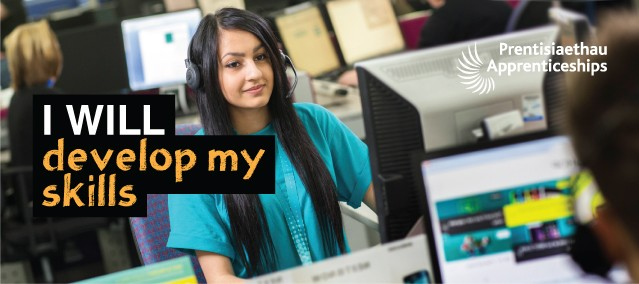 Apprenticeships – I WILL develop my skills