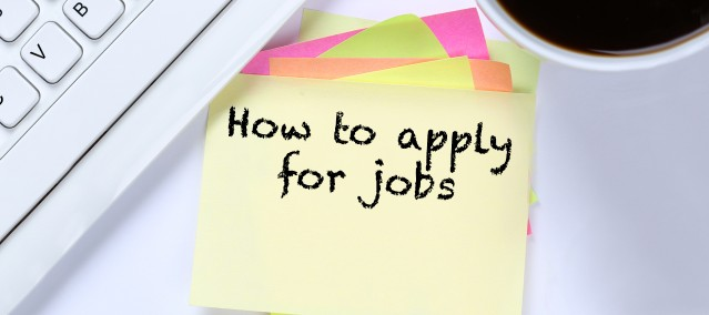 How to apply for jobs