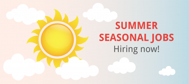 Find Summer Seasonal Jobs in the UK and abroad