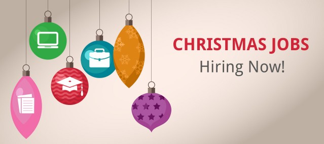 Get yourself a Christmas job! It could be the start of something bigger