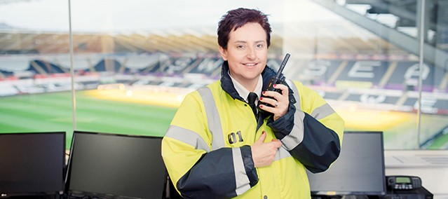 From redundancy to helping to manage security at Liberty Stadium