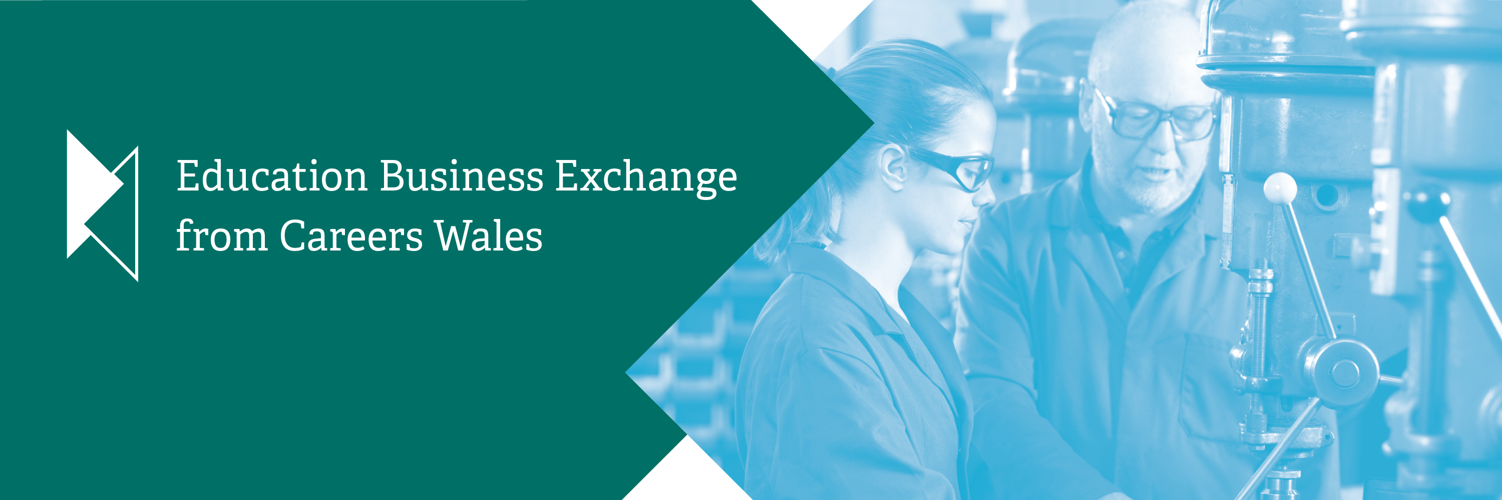 Education Business Exchange header