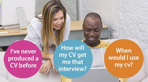 CV Booklet advert
