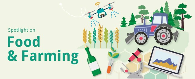 Food and Farming RHS feature advert