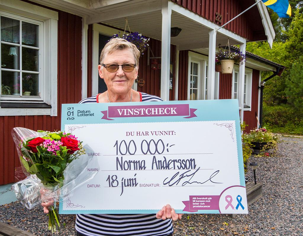 Norma vinner 100 000 kr