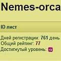 nemes-orca