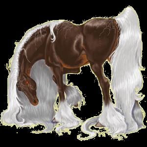 Верховая лошадь Английская чистокровная Огненно-гнедой
