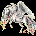 Пегас Чистокровная испанская Светло-серый