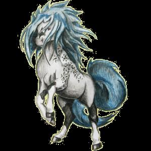 Верховая лошадь Арабская Чистокровная Пегая