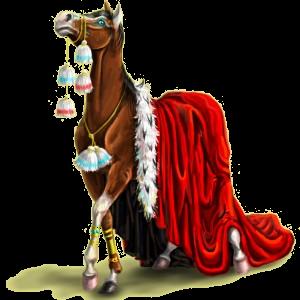 Верховая лошадь Ахалтекинская Серый в яблоках