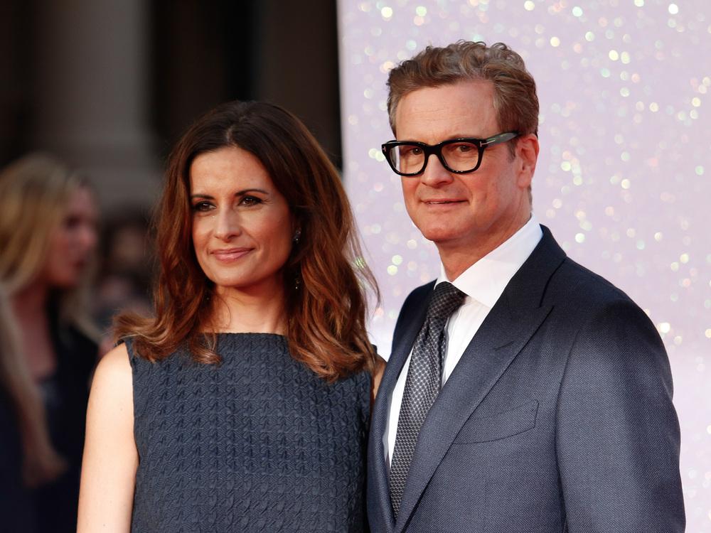 Colin Firth ist jetzt Italo-Brite